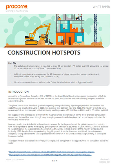 Procorre whitepapers Construction hotspots P1