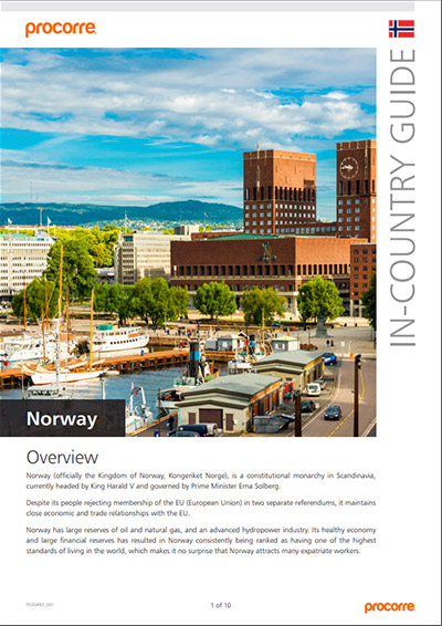Norway In-Country Guide