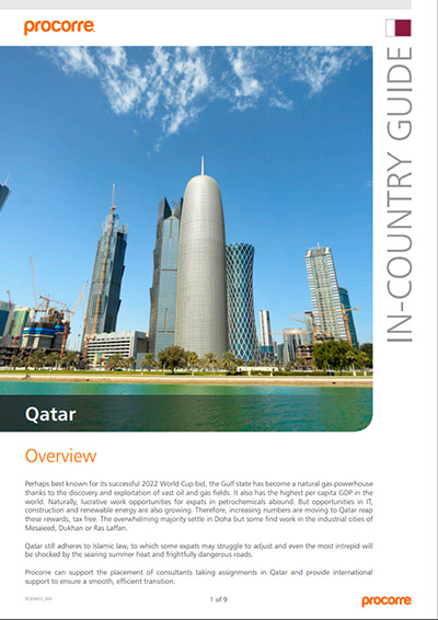 Qatar In-Country Guide
