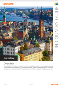 Sweden In-Country Guide