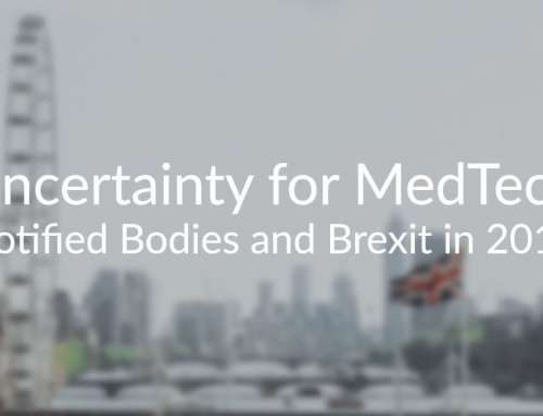 Uncertainty for MedTech – Notified Bodies and Brexit