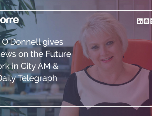 Anne O'Donnell gives her views on the Future of Work in City AM & The Daily Telegraph