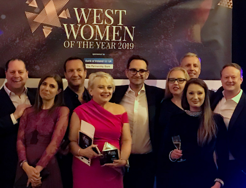 Anne O'Donnell – Winner of The Most Inspirational Businesswoman in the West