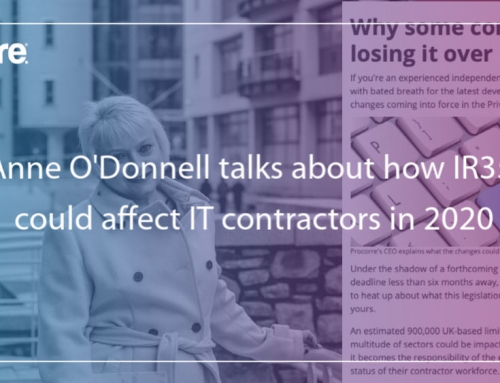 Anne O'Donnell talks about how IR35 could affect IT contractors in 2020